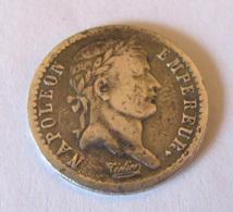 France - Monnaie Demi-Franc (50 Cts) Napoléon Empereur 1808 A En Argent (Buste Fin) - France