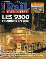 Revue RAIL PASSION N°41, Strasbourg-Lauterbourg, BB 9300 Australie, Bourron-Malesherbes, Voitures Voyageurs, Plouaret - Spoorwegen En Trams