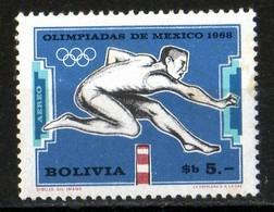 Bolivie 1969 Jeux Olympiques Mexico / Olympiadas Mexico 1968 / 100 B / MNH / Neuf Sans Charnière - Bolivie