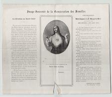 Image - Souvenir De La Consécration Des Familles ( Déchirure ) - Non Classés