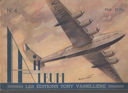 (aviation) AIR  ALBUM  N°4 (CAT 1399) - Avion