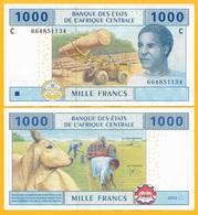 Central African States 1000 Francs Chad (C) P-607Cb 2002 UNC Banknote - États D'Afrique Centrale