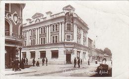 Newton Abbot - Lloyds Bank - Photocard - 1911      (190506) - Angleterre