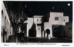 CASABLANCA- 134- La Nuit Calme, Dans La Cité Des Amours. - Casablanca