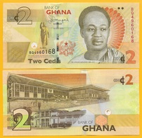 Ghana 2 Cedis P-37Ad 2015 UNC Banknote - Ghana
