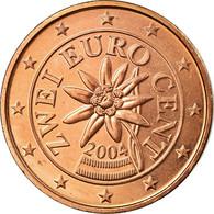 Autriche, 2 Euro Cent, 2004, SUP, Copper Plated Steel, KM:3083 - Austria