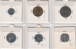 Maldives Lot Collection 6 Coins - Maldivas
