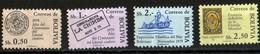 Bolivie 1979 Guerre Du Pacifique 0,50 - 1,00 - 2,00 - 2,50 Besos / MNH / Scott 579, 580, 581, 583 / Neuf Sans Charnières - Bolivia