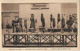 PHOTOGRAPHIE STAND RAACO EXPOSITION 1937 PORTE DE VERSAILLES STRASBOURG PARIS - Photographs