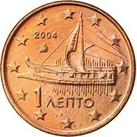 Grèce, Euro Cent, 2004, SUP, Copper Plated Steel, KM:181 - Grèce