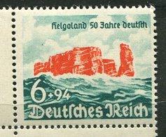 Allemagne  **  N° 672-    Rattachement De L' Ile D' Héligoland - Neufs