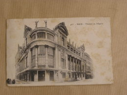 NICE Théatre De L'Opéra  06 Alpes Maritimes Carte Postale France - Monuments, édifices