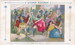 STORIA ROMANA RATTO DELLE SABINE AUTENTICA 100% - Storia