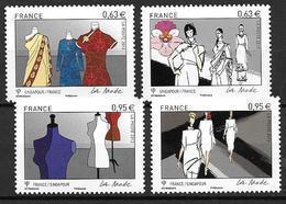 France 2013 N° 4824/4827 Neufs La Mode à La Faciale - Francia