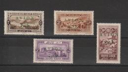 Grand Liban 1925 PA 9-12 , 4 Val * Charnière - Posta Aerea