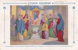 STORIA ROMANA LE VESTALI  AUTENTICA 100% - Storia