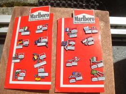 Lots ** De 2 Planches Marlboro World Championship  Team +1 Planche Renault Alberville +1 Coffret Iveco  ** 15 Euros !!! - Badges