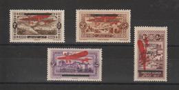Grand Liban 1927 PA 21-24 , 4 Val * Charnière - Posta Aerea