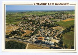 CP 34 THEZAN LES BEZIERS HERAULT VUE AERIENNE ..REF 090519 - France