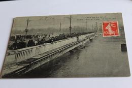 Crue De La Seine - Pont De Tolbiac - 18 Janvier 1910 - 1910 - La Crecida Del Sena De 1910