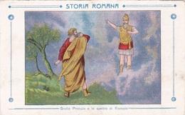 STORIA ROMANA GIULIO PROCULO E LO SPETTRO DI ROMOLO  AUTENTICA 100% - Storia