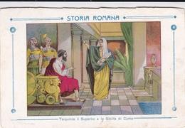 STORIA ROMANA TARQUINIO IL SUPERBO E LA SIBILLA DI CUMA  AUTENTICA 100% - Storia