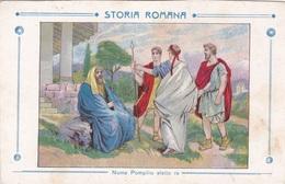 STORIA ROMANA NUMA POMPILIO ELETTO RE AUTENTICA 100% - Storia