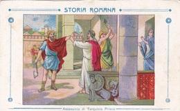 STORIA ROMANA ASSASSINIO DI TARQUINIO PRISCO AUTENTICA 100% - Storia