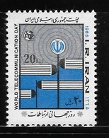 Ir 1986 World Telecommunication Day MNH - Iran
