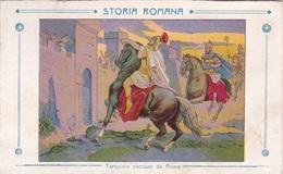 STORIA ROMANA TARQUINIO CACCIATO DA ROMA AUTENTICA 100% - Storia