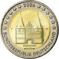 République Fédérale Allemande, 2 Euro, Schleswig Holstein Castle, 2006, SUP - Allemagne