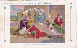 STORIA ROMANA TARQUINIO IL SUPERBO SCACCIA SERVIO TULLIO AUTENTICA 100% - Storia