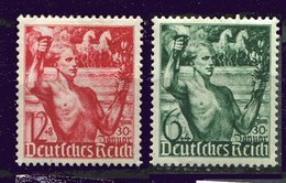 Allemagne  ** N° 603/604 - An. Du Régime National- Socialiste - Unused Stamps