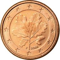 République Fédérale Allemande, Euro Cent, 2005, TTB, Copper Plated Steel - Allemagne