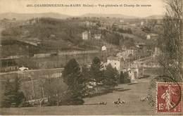 Dép 69 - Hippisme - Hippodrome - Champs De Course - Charbonnieres Les Bains - Vue Générale Et Champ De Course - état - Charbonniere Les Bains