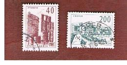 JUGOSLAVIA (YUGOSLAVIA)   - SG 990.995   -    1962  DEFINITIVE    -   USED - 1945-1992 Repubblica Socialista Federale Di Jugoslavia