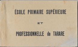 Joli Carnet Complet De 5 Cartes Postales Non écrite -  Ecole Primaire Supérieure Et Professionnelle De TARARE - Tarare