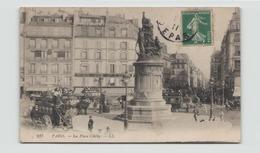 PARIS MONTMARTRE LA PLACE CLICHY 75 - Squares