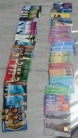 Lot De 100 TC Usées Toutes En Superbe état Et Toutes Différentes. 2001, 2002 Et Peu D'autres Dates Peu Ou Pas De Double - 2002