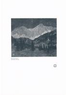 080-2 Holzer: Sonnwendnacht Berge Gebirge Druck 1911 !!! - Gegraveerde Prenten