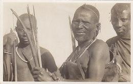 Warriors - Phot. Martin Johnson, Mombasa - Photocard          (190506) - Kenya