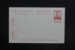 BELGIQUE - Entier Postal Non Utilisé - L 29055 - Stamped Stationery