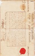 Congé De Garde Nationale   An 9  Texte Complet  Issu De L'isle De France ( Maurice ) TB - Manuscritos