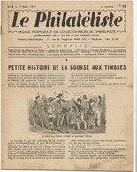 LE PHILATELISTE - Revue Bimensuelle N°2 - 1941 - Petite Histoire De La Bourse Aux Timbres - Livres, BD, Revues