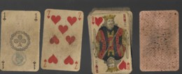 Jeu De 32 Cartes à Jouer Playing Cards Complet Pas De Jocker Date Du Jeu 3ème République Filigrane Avec Tampon Decrêt 6 - Cartes à Jouer Classiques
