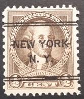 USA – Scott #704 – Precancel DLE New York, New York (1932) - United States