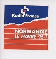 Radio France Normandie Le Havre 95.1 (autocollant 9X9) - Radio
