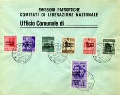 """CLN BUSTA FILATELICA """"ARONA LIBERA"""" - 4. 1944-45 Sozialrepublik"""