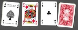 Jeu De 52 Cartes à Jouer Playing Cards Complet Pas De Jocker BEST POKER CATEL & FARCY PARIS  12 - Cartes à Jouer Classiques