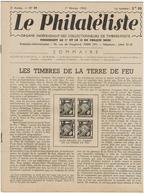LE PHILATELISTE - Revue Bimensuelle N°14- 1942  - Les Timbres De La Terre De Feu - - Livres, BD, Revues